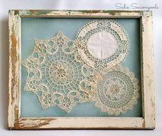 framed doilies ile ilgili görsel sonucu