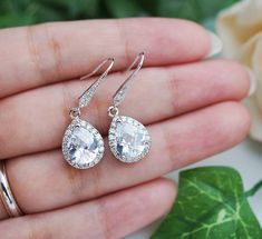 15% OFF SET OF 6 Wedding Jewelry Bridesmaid by earringsnation