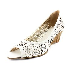 PU Upper Low-Heel Peep-toes Hollow-out Wedding/ Party Shoes.More Colors Available – US$ 29.99