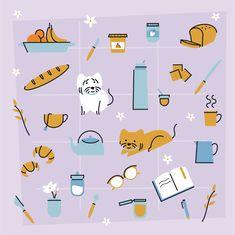 Illustration for social media Graphic Design Illustration, Social Media, Cards, Social Networks, Maps, Playing Cards, Social Media Tips