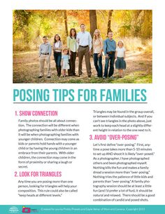 Posing Tips for Families. Pretty Presets for Lightroom.