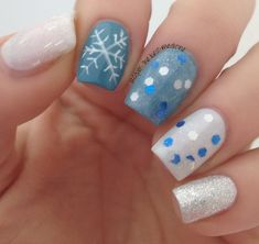 Let It Snow!      #nailarts #nails