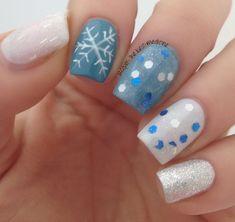 Let It Snow!      #nailarts #nails