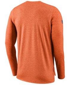 Nike Men s Denver Broncos Player Long Sleeve Top - Orange XXL Denver Broncos  Players 4a160c5a8