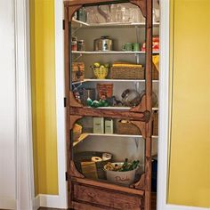 screened-in pantry project built by a reader based on a projects in this old house magazines House Restoration, New Homes, Kitchen Style, Condo Decorating, Kitchen Plans, House, House And Home Magazine, Home, Home Decor
