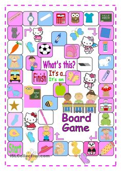 A and An Boardgame for Beginners