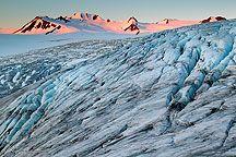 Exit Glacier and Harding Ice Field, Kenai Fjords National Park, Alaska