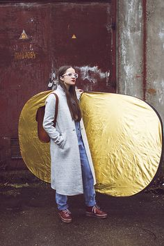 Liebeskind Shoes, Jumpsuit, Zara Velour Coat, Leather Bag, Reserved Eyewear