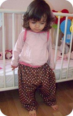 Tuto couture facile, un saroul pour bébé.