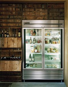 \\ photography by douglas friedman, commercial fridge