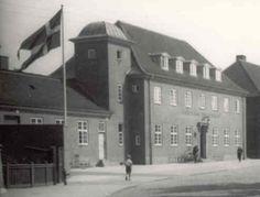 Nakskov, Nørrevold, Posthuset. Tegnet af Magdal Nielsen med Ørnsholt som konduktør (Opført 1929)