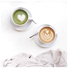 Latte love.