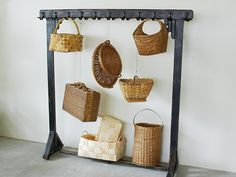 Baskets from Cinq Design in Tokyo, Japan