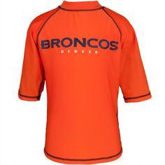 Denver Broncos - Logo Rash Guard Juvy T-Shirt