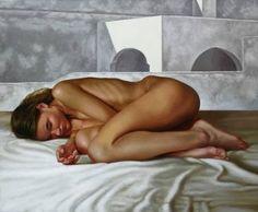 "Saatchi Art Artist renato ferrari; Painting, ""CLEO"" #art"