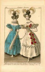 Paris dresses, 1831 :: Fashion Plate Collection, 19th Century