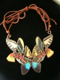 pioneer woman butterfly collar necklace by southernheidibelle, $125.00