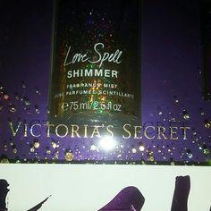 New Victoria Secret love spell shimmer set Victoria secret fragance shimmer lotion, mist and powder Victoria's Secret Other