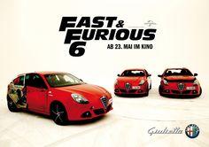 Alfa Romeo Giulietta - Kinostart: Fast & Furious - 23. Mai 2013