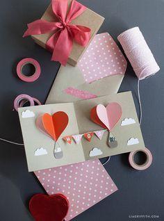 DIY Valentines Day Pop Up Card