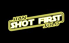 Han solo shot First! #starwars