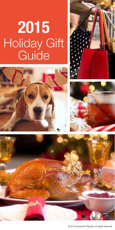 The Consumer Reports 2015 Holiday Gift Guide will help you find deals on consumer electronics, appliances and home-related products, automotive gear, and more throughout the shopping season.