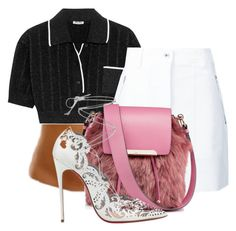 """Untitled #2467"" by aljennings on Polyvore featuring Miu Miu, rag & bone and Christian Louboutin"