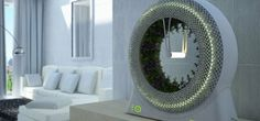 From Italy, indoor hydroponic rotary garden fits on a shelf   Innovations that enable city-dwellers to grow their own plants and food have been coming thick and fast over the past couple of years, with new ideas such asspiral-shaped growing environmentshelping to maximise the use of space. Now, DesignLibero'sGreen Wheelprovides a rotary garden compact enough to fit on an indoor shelf, with aesthetics to match. READ MORE…