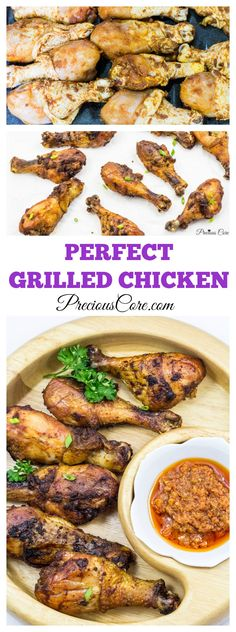 Perfect grilled chicken made in the oven - Precious Core