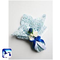 Wedding favors handmade crochet bonbonniere gift от LaCigogne