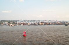 This is the River Niger , the River inside Lagos Nigeria. Sky Photos, Image Now, San Francisco Skyline, Clouds, River, Stock Photos, Rivers, Cloud