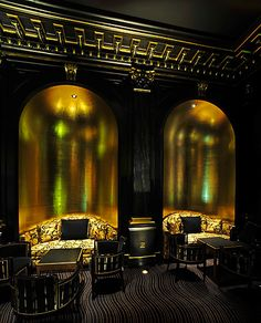The Beaufort Bar, The Savoy Hotel, London.