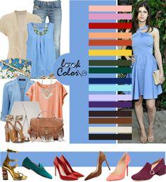 Little Boy Blue 2018 combination Colour Combinations Fashion, Color Combinations For Clothes, Fashion Colours, Colorful Fashion, Color Combos, Fashion Capsule, Fashion Outfits, Color Type, Vintage Street Fashion