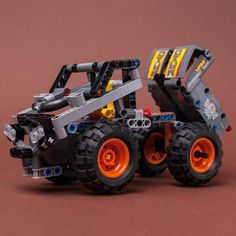 LEGO MOC 42119 Dump Truck by Keep On Bricking | Rebrickable - Build with LEGO Brick Saw, Lego Technic Sets, Lego Group, Lego Parts, Group Of Companies, Dump Truck, Lego Moc, Monster Trucks, Building