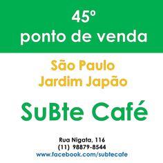 Moringa da Paz agora no SuBte Café! Também fazem o melhor bife de Seitan do Brasil, e ficam na Rua Nigata, 116 – Jardim Japão Funcionam de segunda a sábado, das 9h às 17h Telefone: (11)  98879-8544 Servem café da manhã, almoço, café e bebidas, possuem mesas ao ar livre e um espaço cultural com diversas atividades: www.facebook.com/subtecafe🌿 www.moringadapaz.com 🌿