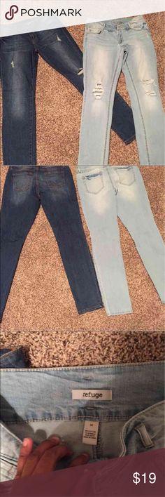 REFUGE skinny jean bundle Belk's dark jean- size 11, refuge jeans- size 10, no flaws refuge Jeans Skinny