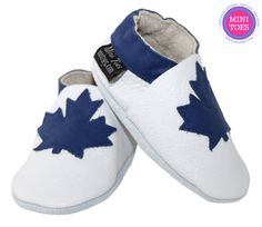 Toronto Maple Leafs Inspired Hand Made Soft sole by minitoes Toronto Maple Leafs, Babies Stuff, Baby Shoes, Inspired, Trending Outfits, Mini, Unique Jewelry, Handmade Gifts, Inspiration