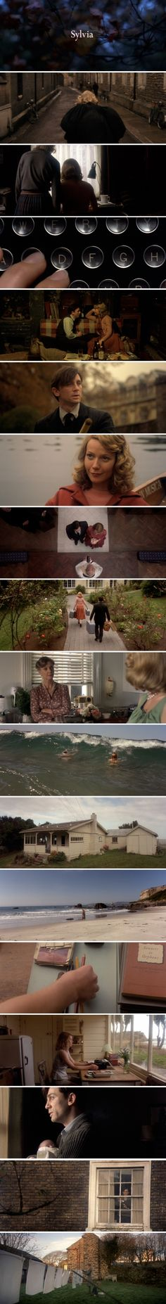Sylvia (2003) Story of the relationship between the poets Ted Hughes and Sylvia Plath.