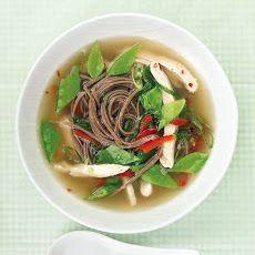 Asian Chicken Soup II Recipe