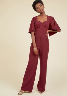 Flair for Fearlessness Jumpsuit, @ModCloth