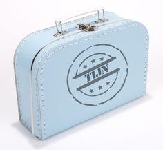 prijs laatste mode online te koop 91 beste afbeeldingen van Koffertjes met naam ...