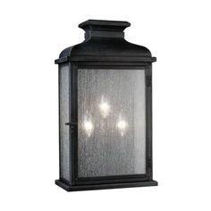 Feiss Pediment W Dark Weathered Zinc Transitional Wall Sconce at Lowe's. The Feiss Pediment three light outdoor wall fixture in dark weathered zinc enhances the beauty of your property, makes your home safer and more secure, Outdoor Hanging Lanterns, Outdoor Wall Lantern, Outdoor Wall Sconce, Outdoor Wall Lighting, Exterior Lighting, Outdoor Walls, Gas Lanterns, Lighting Ideas, Lantern Lighting