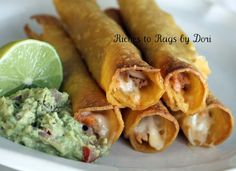 Pork Taquitos - My family voted this as their #1 favorite meal.