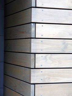 65 new ideas for exterior house wall facades 65 new ideas for exterior façade … - All About Balcony Shed Cladding, Timber Cladding, Exterior Cladding, Wall Cladding, Wall Exterior, Cladding Ideas, Exterior Remodel, Wood Architecture, Street House