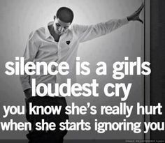 quote, silence, and cry image