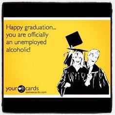 Lol...this is me... graduation smh