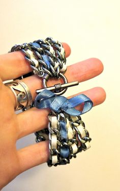 diy-ribbon-chain-bracelet-5