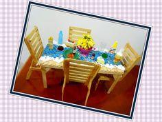 #Amomuitotudoisso #Brinquedos #Muñeca #Mesa #Table #Cadeira #Silla #Chair #Compalitosdepicolé #Doll #Barbie #RaquelGaucha