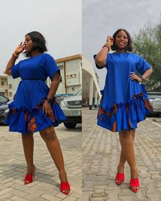 2020 Elegant and Exceptional Ankara Gowns Styles For Beautoful Ladies to check Stunning And Stylish Styles in Vogue Ankara Short Gown Styles, Trendy Ankara Styles, Lace Dress Styles, Short Gowns, Ankara Gowns, African Attire, African Wear, African Dress, Ankara Dress Designs