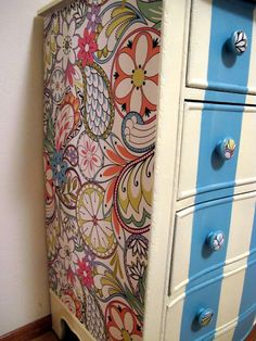 adorable dresser makeover
